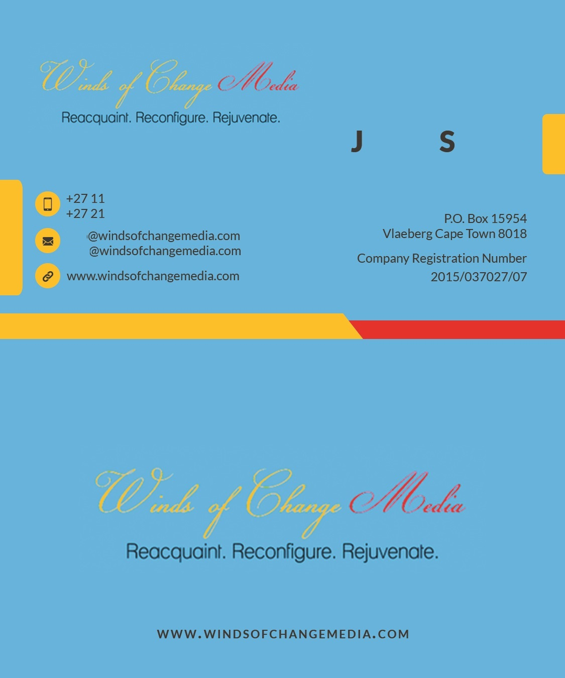 Winds of Change Media - Business Cards