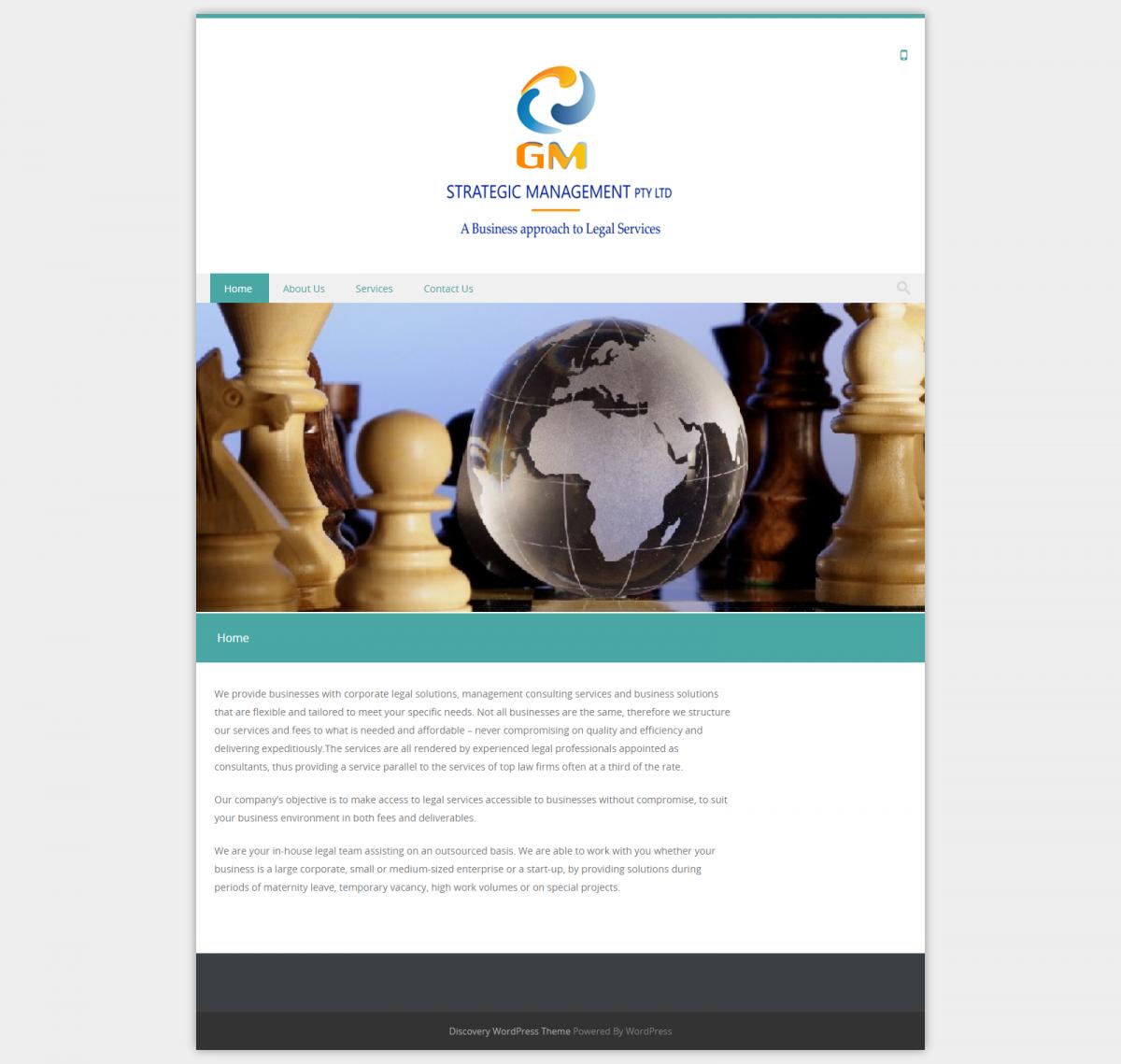 GM Strategic - Website